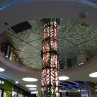 Világító üvegoszlop