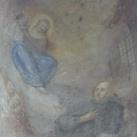 Kalazanci Szent József diákokkal a Szűzanya előtt