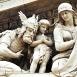 Szent István-bazilika főhomlokzati timpanonjának szoborcsoportja