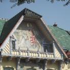 Mozaikképek a Kultúra házának homlokzatán