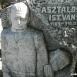 Asztalos István író síremléke