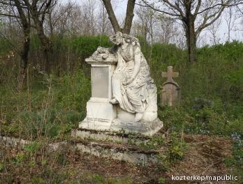 A legjobb Anyának - Gessell Borbála síremléke