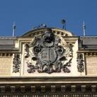 A Fővárosi Bíróság épületének címere