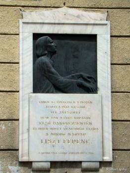 Liszt Ferenc-emléktábla