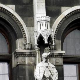 Országház - keleti homlokzat: Teleky Mihály