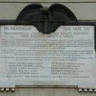 A csehek kiverésének emléktáblája