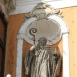 Szent Benedek (az Apátúr-ház épületszobrai II.)