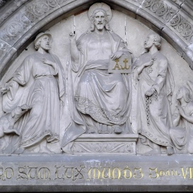 Szent Rókus és Szent Péter Krisztus előtt