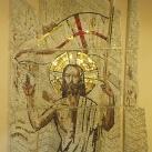 A feltámadt Krisztus-mozaik