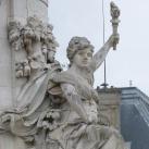 Szabadság, Egyenlőség, Testvériség szobra a Köztársaság-emlékművön