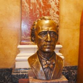 Gustav Mahler mellszobra