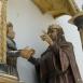 Szent István átadja az Intelmeket Szent Imre hercegnek