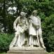 Eötvös József és Széchenyi István szobra