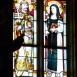 Szent István és Szent Margit üvegablak