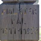 Maléter-kopjafa