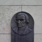 Bessenyei György-portrédombormű