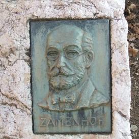 Zamenhof-emléktábla