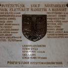 Emléktábla a Főiskola hősi halottainak