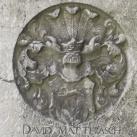 Mátyás Dávid (David Matthiasch) sírtáblája