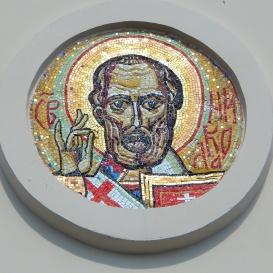 Szent Miklós-mozaik