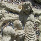 Szári kálvária stációinak domborművei