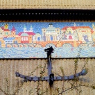 Mozaikkép és napóra