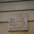 Somlay Artúr-emléktábla
