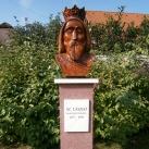 Szent László király mellszobra