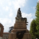 Az olasz függetlenségi harc és Anita Garibaldi emlékműve