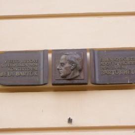Bartók Béla-emléktábla