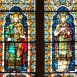 Szent István király, Boldog Gizella üvegablak