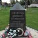 Az 1956-os forradalom gyóni áldozatainak emlékoszlopa