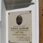 D. Payr Sándor-emléktábla