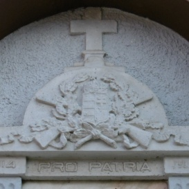 I. világháborúban elesettek emlékére