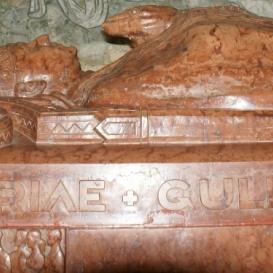 Apor Vilmos síremléke