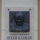 Strém Kálmán-emléktábla