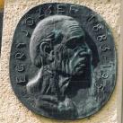 Egry József-emléktábla