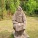 Ülő parasztasszony