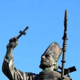 Szent Gellért püspök szobra