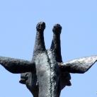 Zsiráf-szobor