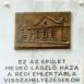A Meskó ház emléktáblája
