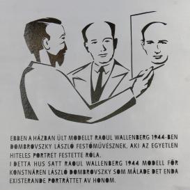 Wallenberg–Dombrovszky-emléktábla