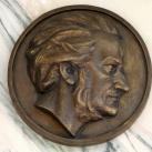 Richard Wagner domborműves emléktábla
