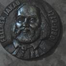 Fellner Jakab emléktáblája
