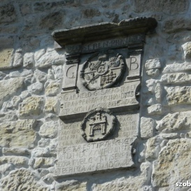 Szabók bástyájának címeres emlékköve