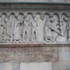 Genezis-reliefek a modenai dóm homlokzatán