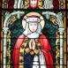 A Mindenkor Segítő Szűz Mária plébániatemplom bal oldali üvegablakai