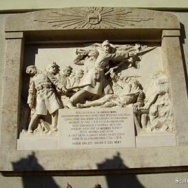 19. sz. gyalogezred emlékműve