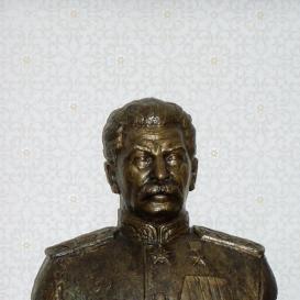 Joszif Visszarionovics Sztálin mellszobra