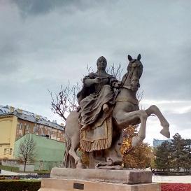 Mária Terézia szobra